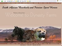 Dynasty Farms, South African Boerboels and Friesian Sport Horses